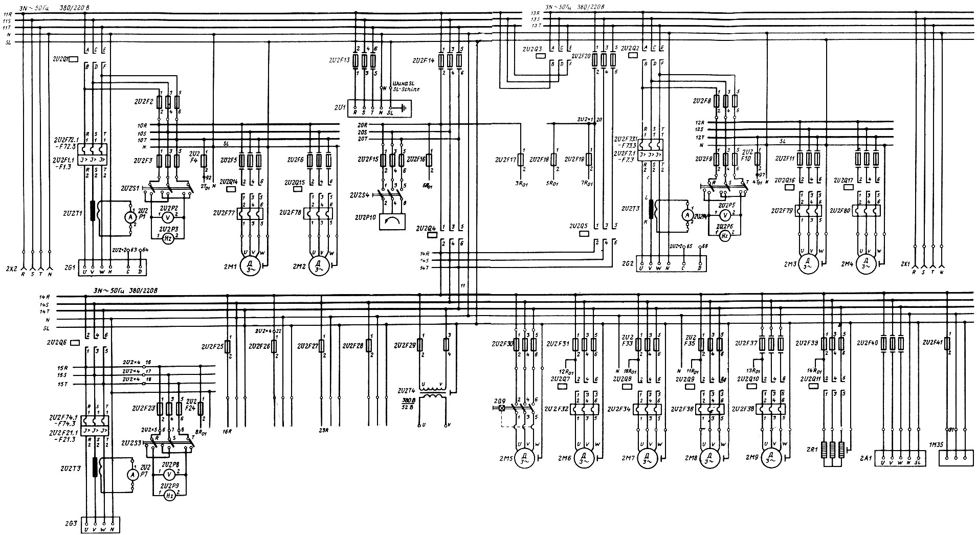 схема неподвижного магнитного генератора