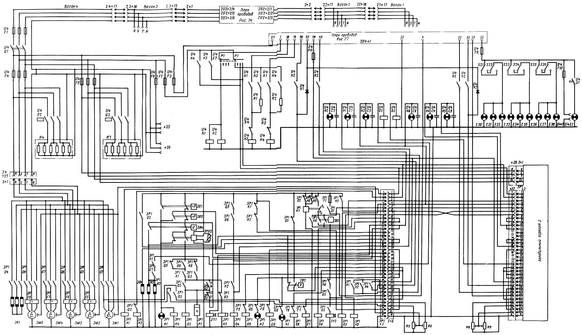 Схема вагона гдр