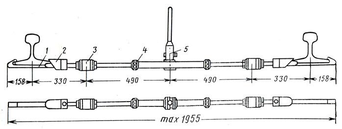 Схема стяжного прибора